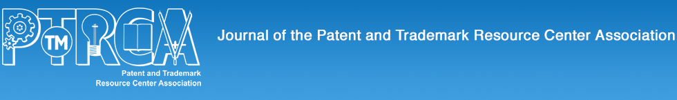 Journal of the Patent and Trademark Resource Center Association