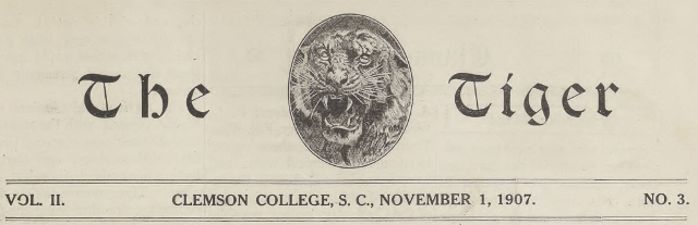 Tiger Newspapers 1907