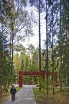 "Path to Polish Military Cemetery, ""KATYN'"" Memorial by William C. Brumfield"