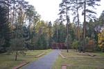 "Polish Military Cemetery with Roman Catholic Altar, ""KATYN'"" Memorial by William C. Brumfield"