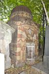 Preobrazhenskoe Jewish Cemetery, Brick Mausoleum by William C. Brumfield