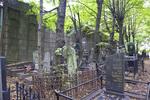 Preobrazhenskoe Jewish Cemetery, Outer Wall, North Range of Prayer House Courtyard