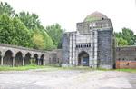 Prayer House & Courtyard, Preobrazhenskoe Jewish Cemetery by William C. Brumfield