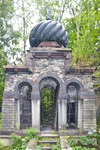PREOBRAZHENSKOE JEWISH CEMETERY, SOUTH AREA, MAUSOLEUM by William C. Brumfield