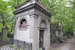 PREOBRAZHENSKOE JEWISH CEMETERY, SOUTH AREA, NEVSKAIA ALLEE, MAUSOLEA by William C. Brumfield