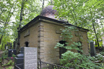 PREOBRAZHENSKOE JEWISH CEMETERY, SOUTH AREA, DOMED MAUSOLEUM by William C. Brumfield