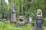PREOBRAZHENSKOE JEWISH CEMETERY, SOUTH AREA, GRAVES