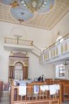 Soldatskaia Synagoga (Soldiers Synagogue), Interior, Sanctuary, View Toward Torah Ark & Menorah