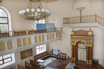 Soldatskaia Synagoga (Soldiers Synagogue), Interior, Sanctuary, View Toward Torah Ark & Menorah