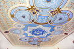 Soldatskaia Synagoga (Soldiers Synagogue), Interior, Sanctuary Ceiling by William C. Brumfield