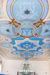 Soldatskaia Synagoga (Soldiers Synagogue), Interior, Sanctuary Ceiling
