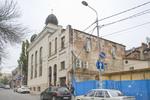 Soldatskaia Synagoga (Soldiers Synagogue), Main Facade, Gazetnyi Lane 18