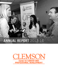 Center for Career and Professional Development Annual Report, 2013-2014 by Clemson University