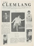 The Clemlang, Spring 1983 by Department of Languages, Clemson Univeristy
