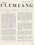 The Clemlang, Fall 1980