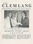 The Clemlang, Fall 1977