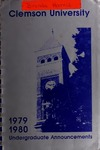 Clemson Catalog, Vol 54