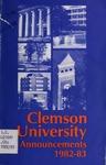 Clemson Catalog, Vol 57