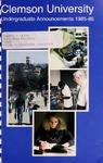 Clemson Catalog, Vol 60