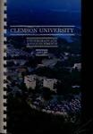 Clemson Catalog, Vol 62