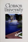 Clemson Catalog, Vol 68