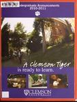 Clemson Catalog, Vol. 85