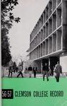 Clemson Catalog, 1956-1957, Volume 32