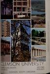 Clemson Catalog, 1970-1971, Volume 46