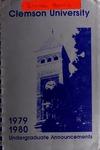Clemson Catalog, 1979-1980, Volume 54