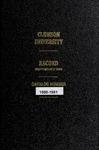 Clemson Catalog, 1980-1981, Volume 55