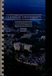 Clemson Catalog, 1987-1988, Volume 62 by Clemson University