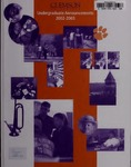 Clemson Catalog, 2002-2003, Volume 77 by Clemson University