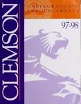 Clemson Catalog, 1997-1998, Volume 72 by Clemson University