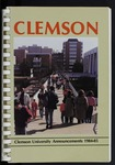 Clemson Catalog, 1984-1985 by Clemson University