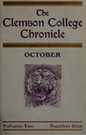 Clemson Chronicle, 1906-1907 by Clemson University