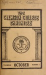 Clemson Chronicle, 1908-1909