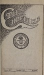 Clemson Chronicle, 1910-1911 by Clemson University