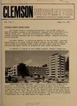 Clemson Newsletter, 1969-1971