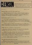 Clemson Newsletter, 1971-1972