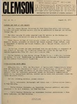 Clemson Newsletter, 1972-1973