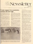 Clemson Newsletter, 1985-1986 by Clemson University