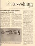 Clemson Newsletter, 1985-1986