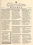Clemson Newsletter, 1989-1991 by Clemson University