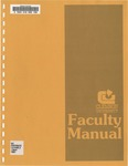 Faculty Manual, 1991