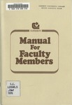 Faculty Manual, 1976