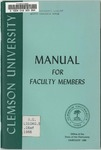 Faculty Manual, 1966