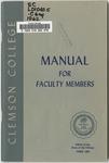 Faculty Manual, 1962