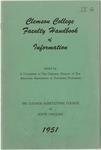 Faculty Manual, 1951