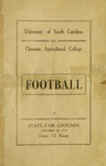 South Carolina vs Clemson (10/30/1919)