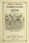 Wofford vs Clemson (10/29/1927)